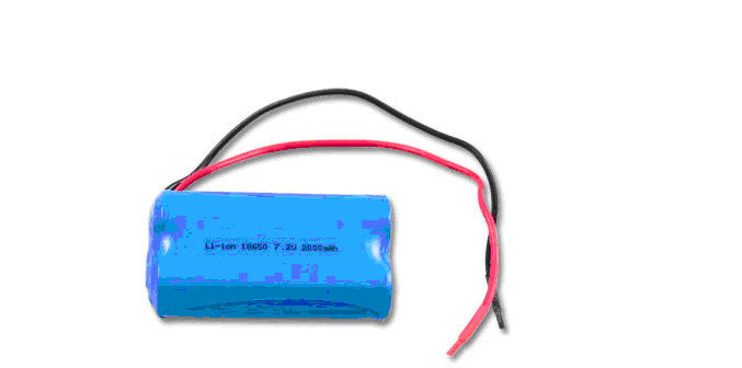 Non-toxic 7.2Volt 2000mAh Rechargeable Lithium Ion Battery Packs UL CE