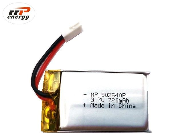 20C High Discharge Rate UAV Drone Lithium Polymer Battery MP902540P 720mAh CB IEC62133 KC