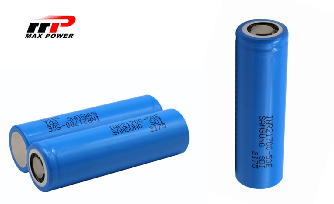 INR21700 50E Lithium Ion Rechargeable Batteries High capacity SDI Battery