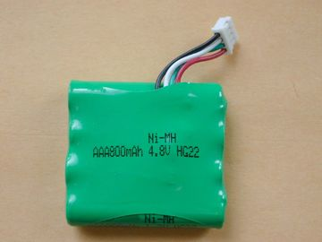 China A bateria de Nimh do Walkietalkie embala 4.8V, baterias de AA2300 800mAh distribuidor